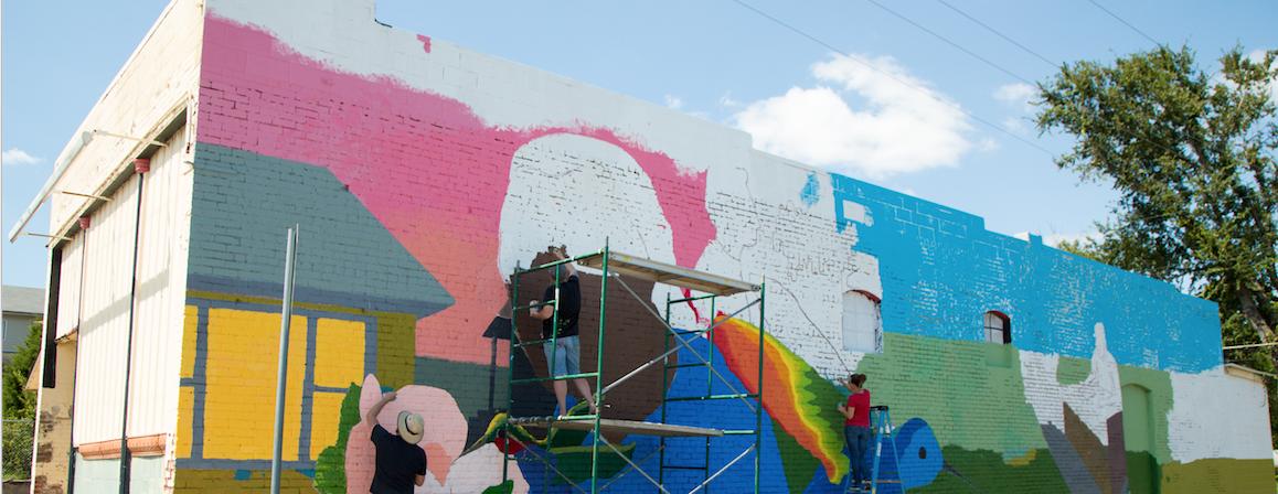 New mural captures Joplin's history