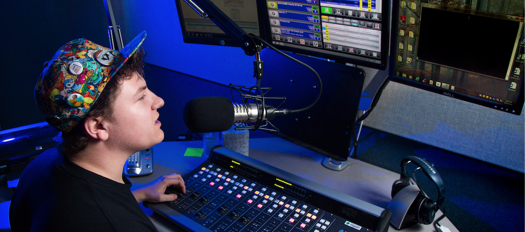 Student programming featured heavily on KXMS