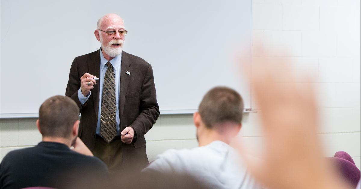 Moos tapped as Interim Dean for Robert W. Plaster School of Business