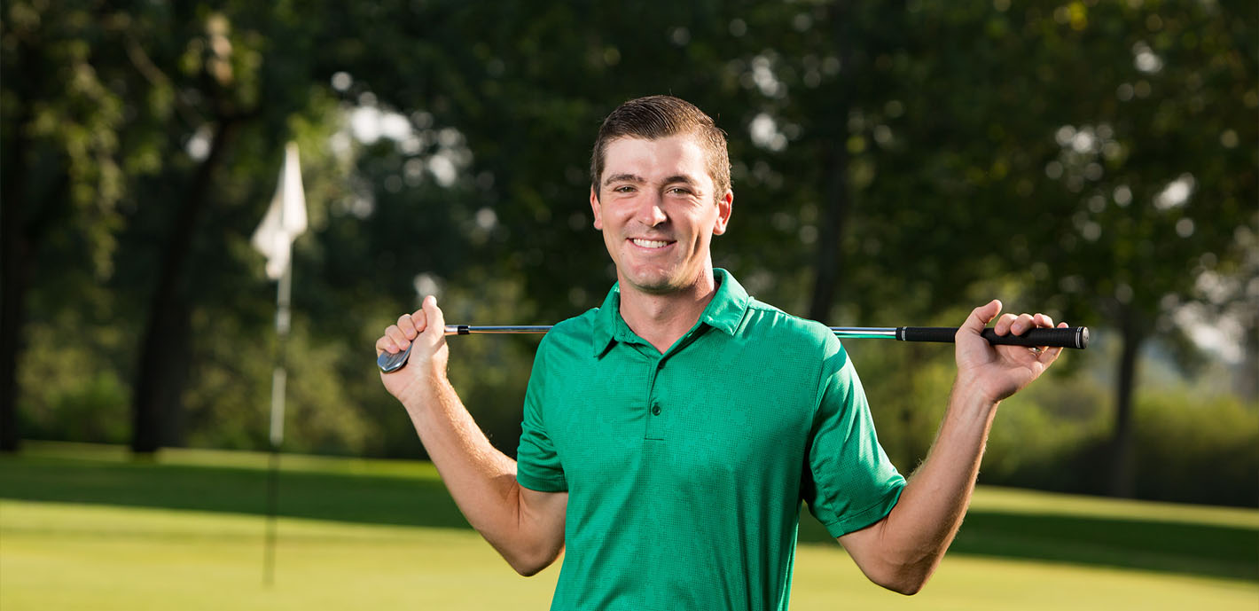 Taylor Griffith hits the green in search of PGA gold