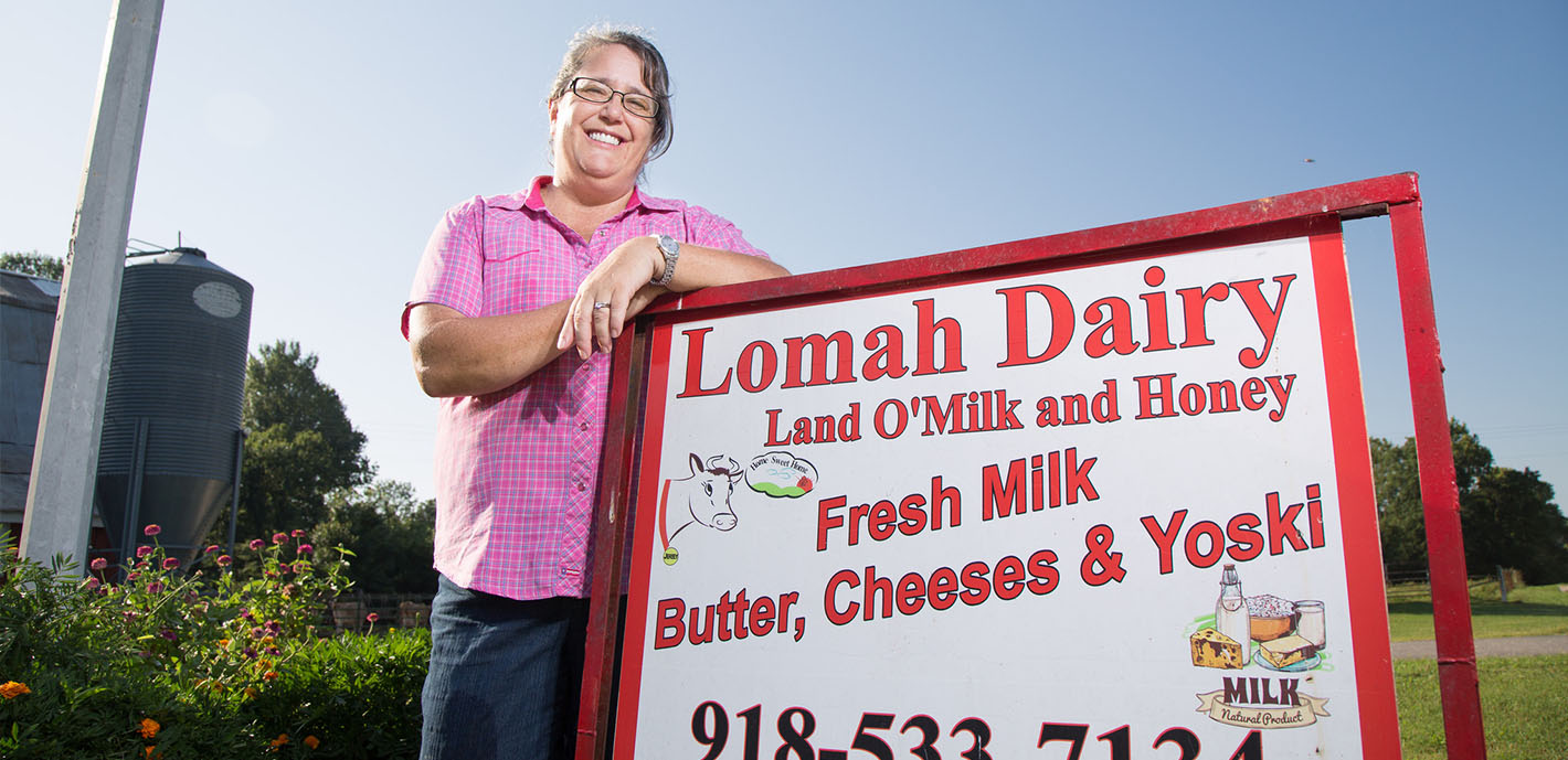 The Land of Milk and Honey: Biology professor and family run successful dairy operation