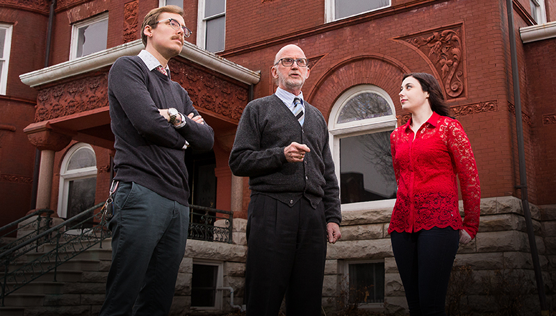 'A living time capsule': Students assisting with historic preservation project