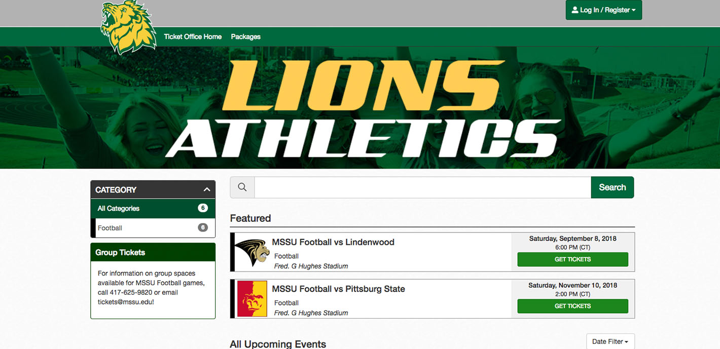 Athletics rolls out new online ticketing interface