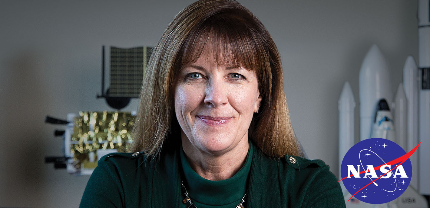 Giant Leaps for Mankind: NASA's Dr. Janet Kavandi, '80, talks next generation of space travel