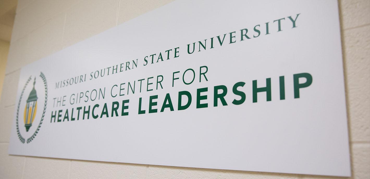 University announces Gipson Center for Healthcare Leadership