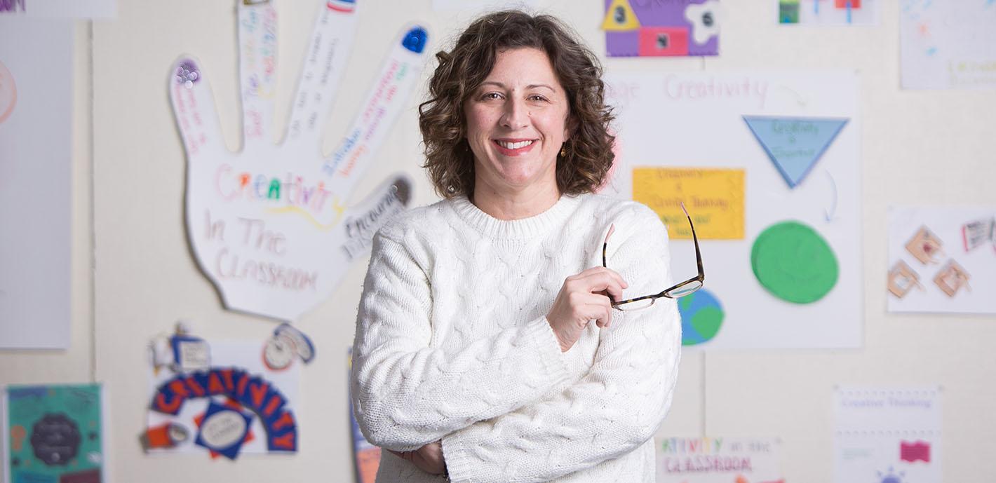 Amber Mintert Named Art Educator of the Year