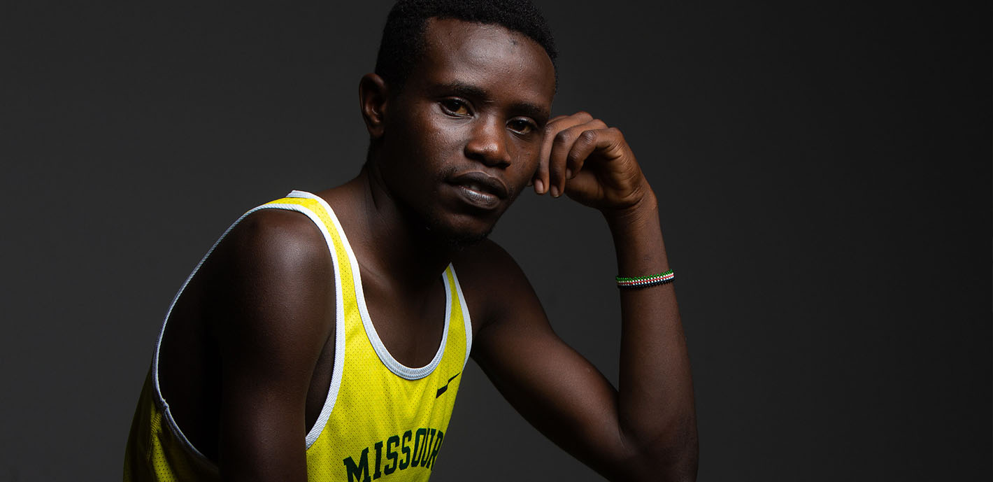 I Don't Give Up So Easily: Freshman Gidieon Kimutai shows amazing stamina after 2015 injury