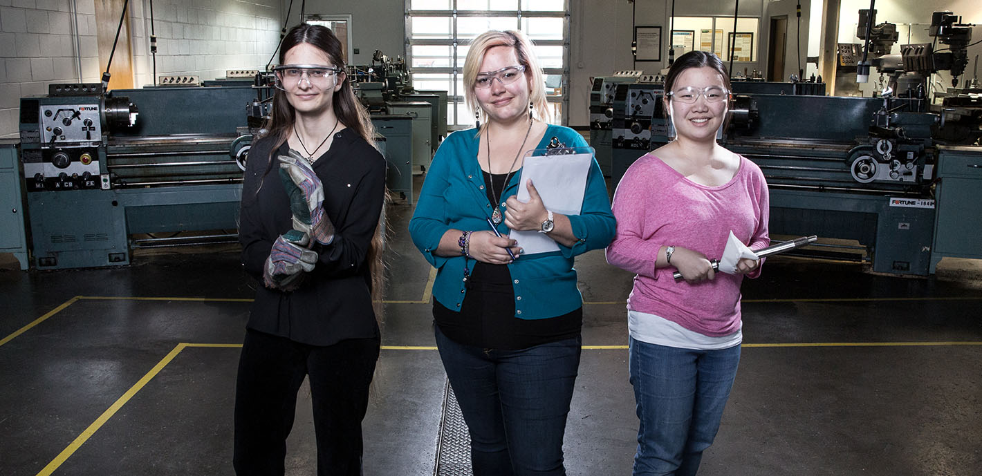 Girl Power: Student engineering group led by all female officers for 2018-19