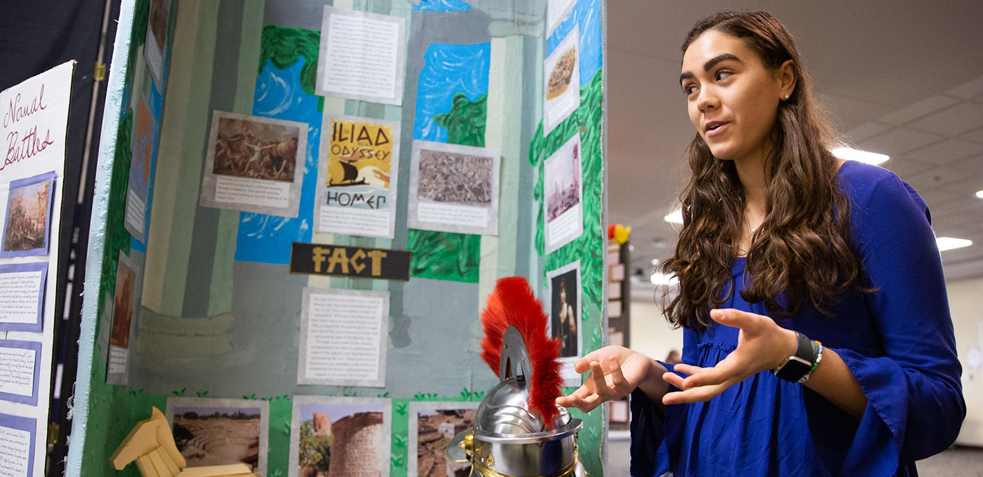 Area Students Gather For History Day, Science Fair