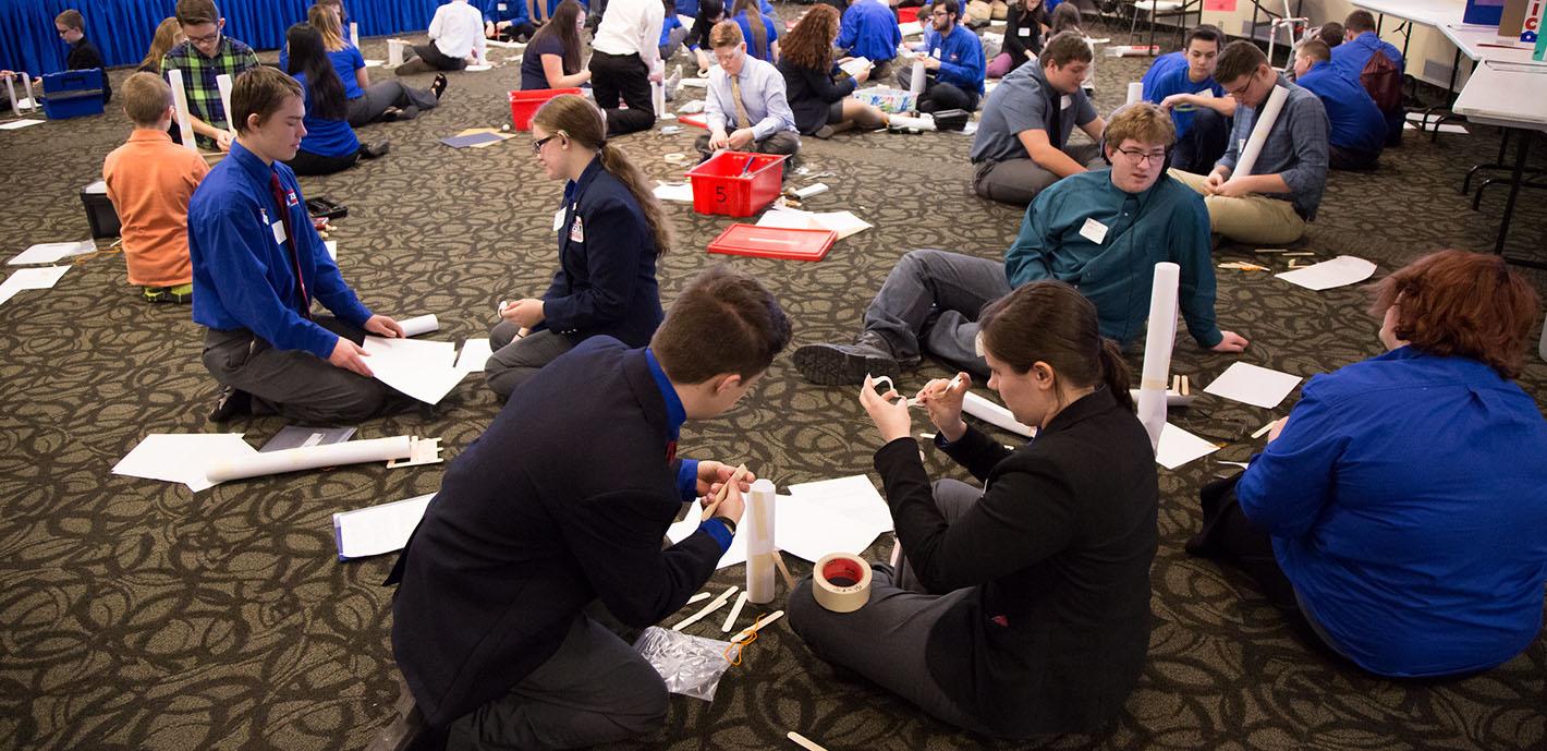 Hundreds Gather for Technology Student Association Conference
