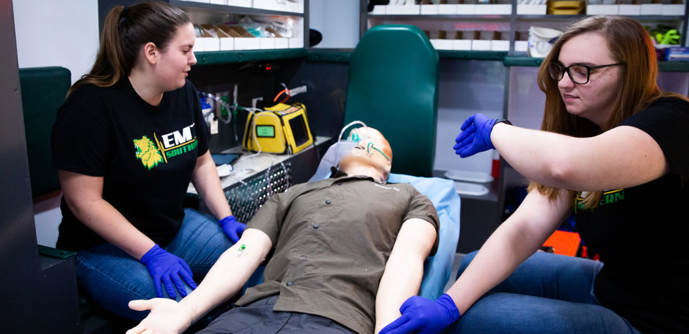 EMS Sim Lab Gets Technology Upgrades