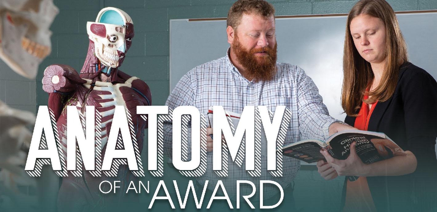 Anatomy of an Award: Students Receive Recognition at International Conference