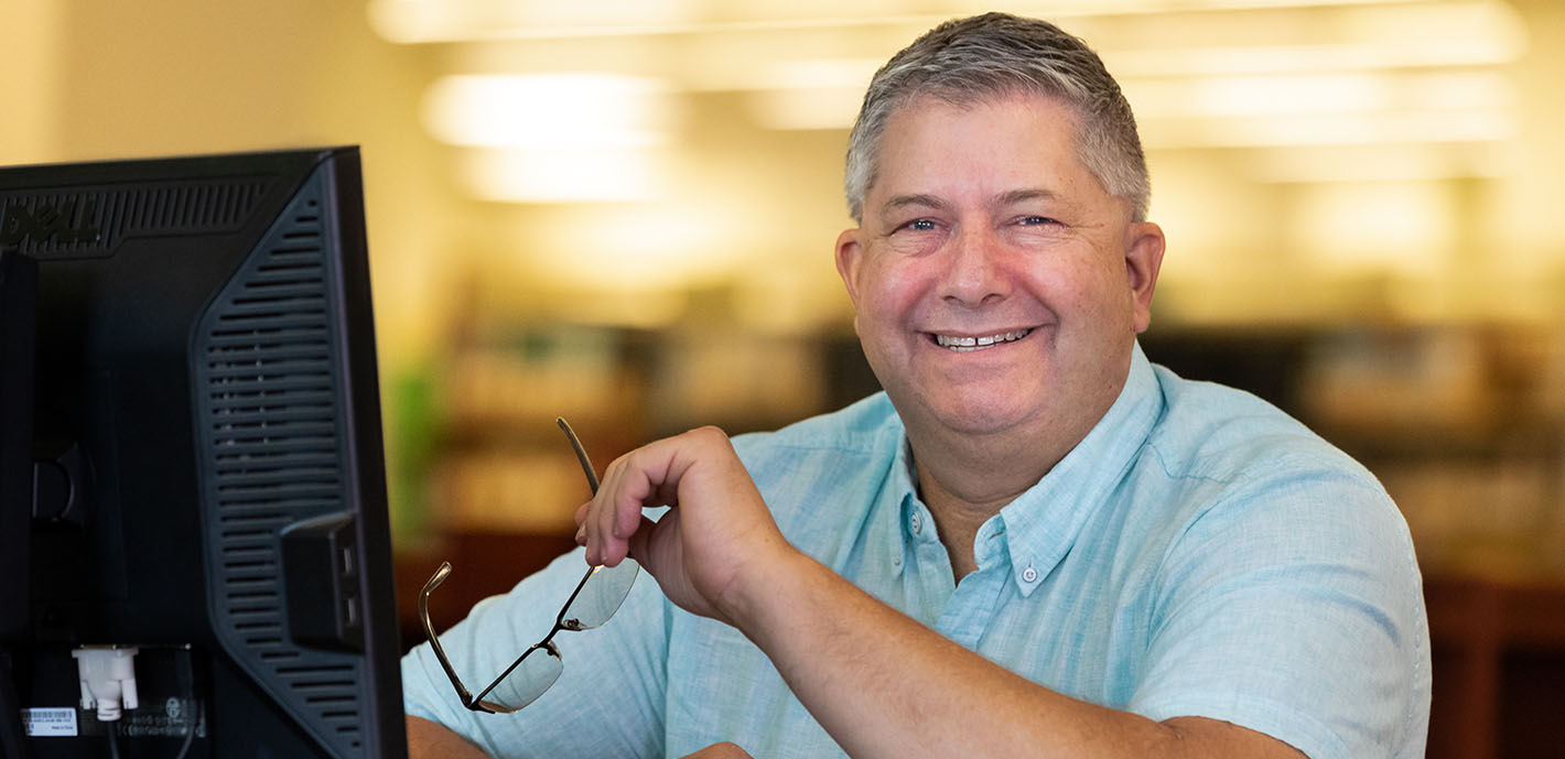 Driven  |  David Goad returns to MSSU to work on degree more than 30 years after accident