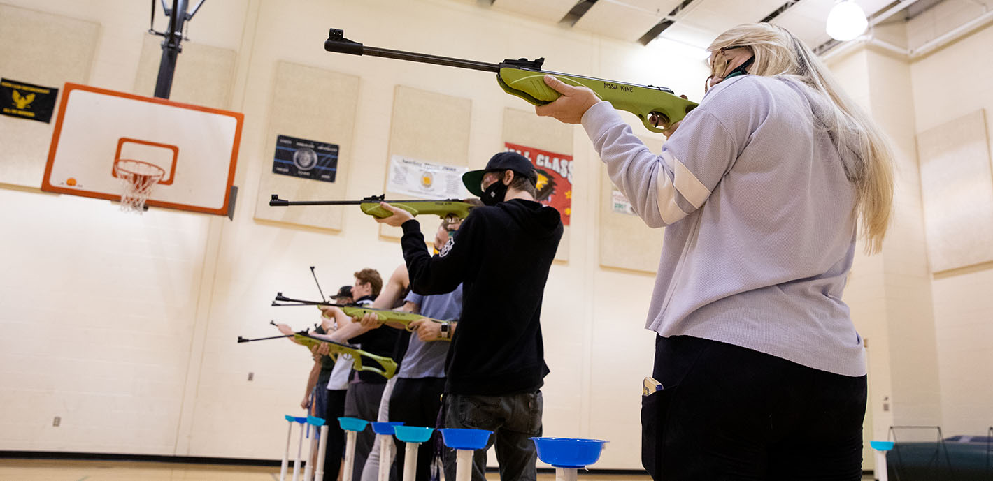 New Archery & Air Rifle Course Teaches Students The Basics Of The Sports