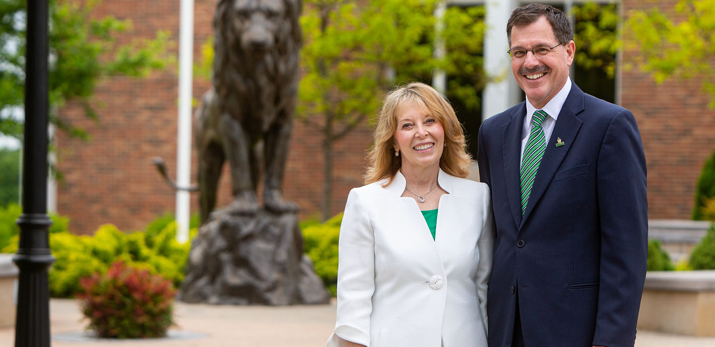 Committed to Success  |  University welcomes Dr. Dean Van Galen as sixth president